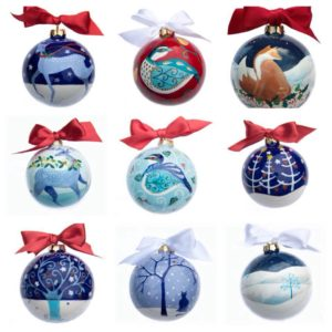 Ceramic baubles
