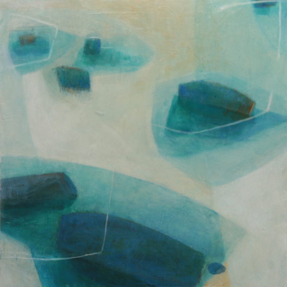 """""""Steps Along the Way""""</BR> 40 cm x 40 cm</BR>£300 + shipping"""